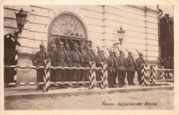 Lithuanie -Litauen  -Kowno -Kaunas- Aufziehen Der Wache - Feldpostkarte - Litouwen