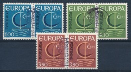 EUROPA CEPT - PORTUGAL 1966 (paar/paire) - Gest./obl. - (ref. 102) - 1966