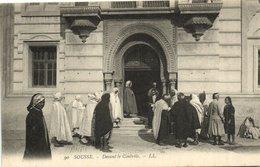 CPA TUNISIE SOUSSE - Devant Le Controle (133024) - Tunesien