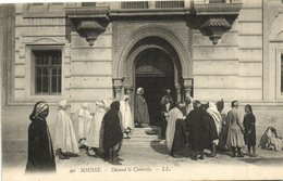 CPA TUNISIE SOUSSE - Devant Le Controle (133024) - Tunisie