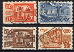 BELGIO - 1950 - SMISTAMENTO POSTALE - USATI - Ferrovie