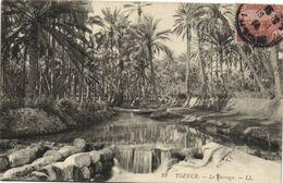 CPA TUNISIE TOZEUR - Le Barrage (133960) - Tunisia