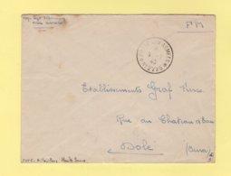 Poste Aux Armees N°2226 - 9-2-1940 - Aillevillers Haute Saone - FM - Marcophilie (Lettres)