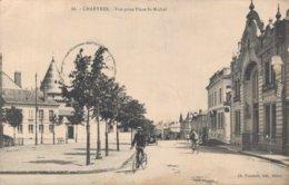 28 88 CHARTRES Vue Prise De La Rue Saint Michel - Chartres