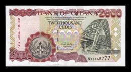 Ghana 2000 Cedis 2006 Pick 33i SC UNC - Ghana