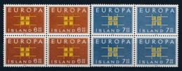 EUROPA CEPT - ISLAND 1963 (blok Van 4) - MNH** - (ref. 104) - Europa-CEPT