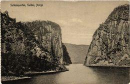 CPA AK NORWAY Suldalsporten Suldal Norge (257491) - Norvège