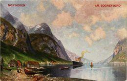 CPA AK NORWAY Norwegen Am Sognefjord (257495) - Norvège