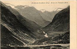 CPA AK NORWAY Nordfjords Fra Skaare Stryn (257496) - Norvège