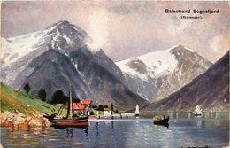 CPA AK NORWAY Balestrand Sognelfjord (257504) - Norvège
