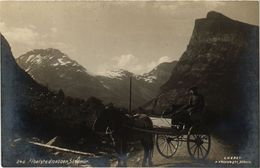 CPA AK NORWAY Fibelstadnebben Sondmor (257505) - Norvège