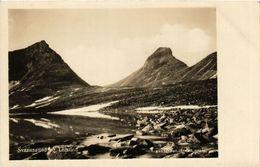 CPA AK NORWAY Svaanaatind Og Larstind (257510) - Norvège