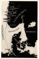 CPA AK NORWAY Reiseweg Nach Norwegen Hardangerfjord Sognefjord (257539) - Norvège