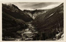 CPA AK NORWAY Vendetunnellen Ved Verma St. Raumabanen (257557) - Norvège