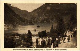 CPA AK NORWAY Nordlandtouristen In Merok (257582) - Norvège