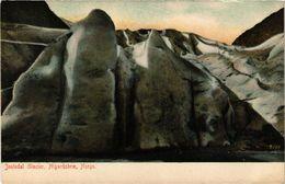 CPA AK NORWAY Jostedal Glacier, Nigardsbrae, Norge (257594) - Norvège