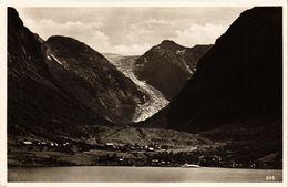 CPA AK NORWAY Norge Sundalgletscher Im Maurangerfjord (257595) - Norvège