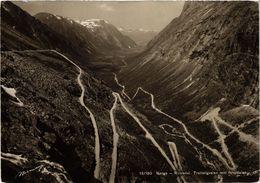 CPA AK NORWAY Norge - Romsdal. Trollstigveien Mot Isterdalen (257597) - Norvège