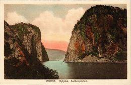 CPA AK NORWAY Norge. Ryfylke. Suldalsporten (257601) - Norvège