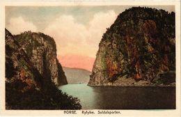 CPA AK NORWAY Norge. Ryfylke. Suldalsporten (257606) - Norvège