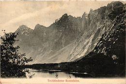 CPA AK NORWAY Troldtinderne Romsdalen (257607) - Norvège