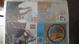 Gros Classeur D'environ 231 Enveloppes 1er Jour D'ALLEMAGNE Et Autres Entre 1975 Et 1982. A Saisir !!! - Stamps