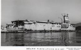 BEARN - PORTE  AVIONS - 1 - NON VIAGGIATA - Guerre