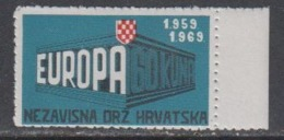 "Europa Cept 1969 Croatia ""Exile"" 1v ** Mnh (44894B) Promotion - Europa-CEPT"
