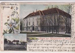 AUTRICHE . Gruss Aus MARGARETHEN A MOOS ( 2 Vues : Schloss & Meierhof) - Bruck An Der Leitha