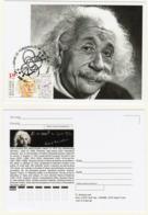 2019 Albert Einstein's 140th Birthday  MC Maximum Card  Bulgaria/Bulgarie - Albert Einstein