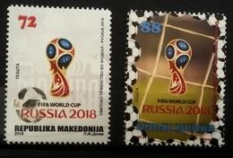 MACEDONIA 2018 FIFA World Cup Russia  MNH - Mazedonien