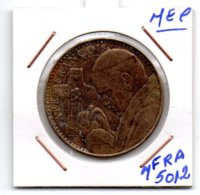 FRANCE * MEDAILLE PAPE FRANCOIS BASILIQUE DU SACRE CCEUR DE MONTMARTRE - Monnaie De Paris