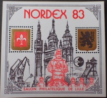 """DF40266/680 - 1983 - BLOC CNEP """" NORDEX 83 """" - N°4A (II) NEUF** - CNEP"""