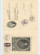 Souvenir Expo Cambrai 1947 FENELON - Cartes-Maximum