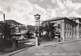 ONEGLIA - OLEIFICIO FRATELLI CARLI - IMPERIA - VIAGGIATA Con Timbro Meccanico Rosso - Imperia