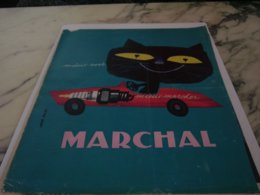 ANCIENNE PUBLICITE BOUGIE PHARE MARCHAL 1961 - Other