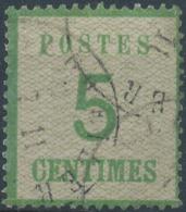 FRANCE - ALSACE-LORRAINE No 4, OBLITÉRE, Signed Richter - Alsace-Lorraine