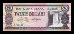 Guyana 20 Dollars 2018 (2019) Pick 30 New SC UNC - Guyana