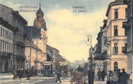 Warschau  - Letznostr. Feldpost 1915 - Polen