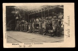 C2336 GERMANY - WITKOWITZ - WALZHUTTE I GROBSTRECKE  VERLAG HERRLINGER PAPIERHANDLG 1902 - Germania
