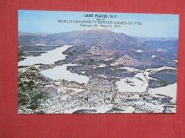 World University Winter Games Of FISU Feb 25 March 5 1972  Lake Placid Ny    Ref 3660 - Winter Sports