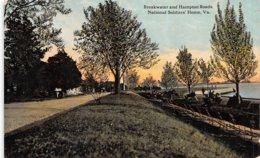 A-19-4954 : BREAWATER AND HAMPTON ROADS. NATIONAL SOLDIERS'HOME. VA. - Hampton