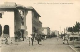 CASABLANCA  BOULEVARD DE LA LIBERTE PROLONGE  (scan Recto-verso) KEVREN0394 - Casablanca