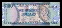 Guyana 100 Dollars 2018 (2019) Pick 36 New SC UNC - Guyana