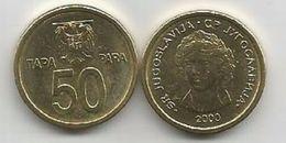Yugoslavia 50 Para 2000  KM#179 High Grade - Joegoslavië
