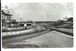 LE MANS - Circuit 24 Heures - Tribunes Et Stands Ravitaillement (1968 Ou 1969) - N° 5 Georget Dolbeau éditeur - Guinée Française