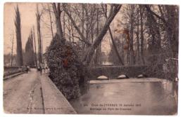 5692 - Crosnes ( 91 ) - Barrage Au Pont De Crosnes ( Crues De L'Yerres 20 Janvier 1910 ) - édit. Mulard - N°7bis - - Crosnes (Crosne)