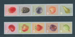 Timbres Rouleaux Rolzegels Fruits Grande Dentelure Grote Tanding VF 9,2 € - Rollen