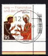 """Deutschland Mi. 3499 """"1219 - Franziskus Und Der Sultan"""" ESST - Usati"""