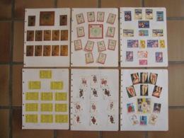 78 étiquettes Boites D'allumettes Safety Matches Zodiac Horoscope Renno Avion Calender Cartes à Jouer - Matchbox Labels
